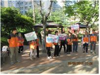 학교보안관과 함께하는 금연 캠페인