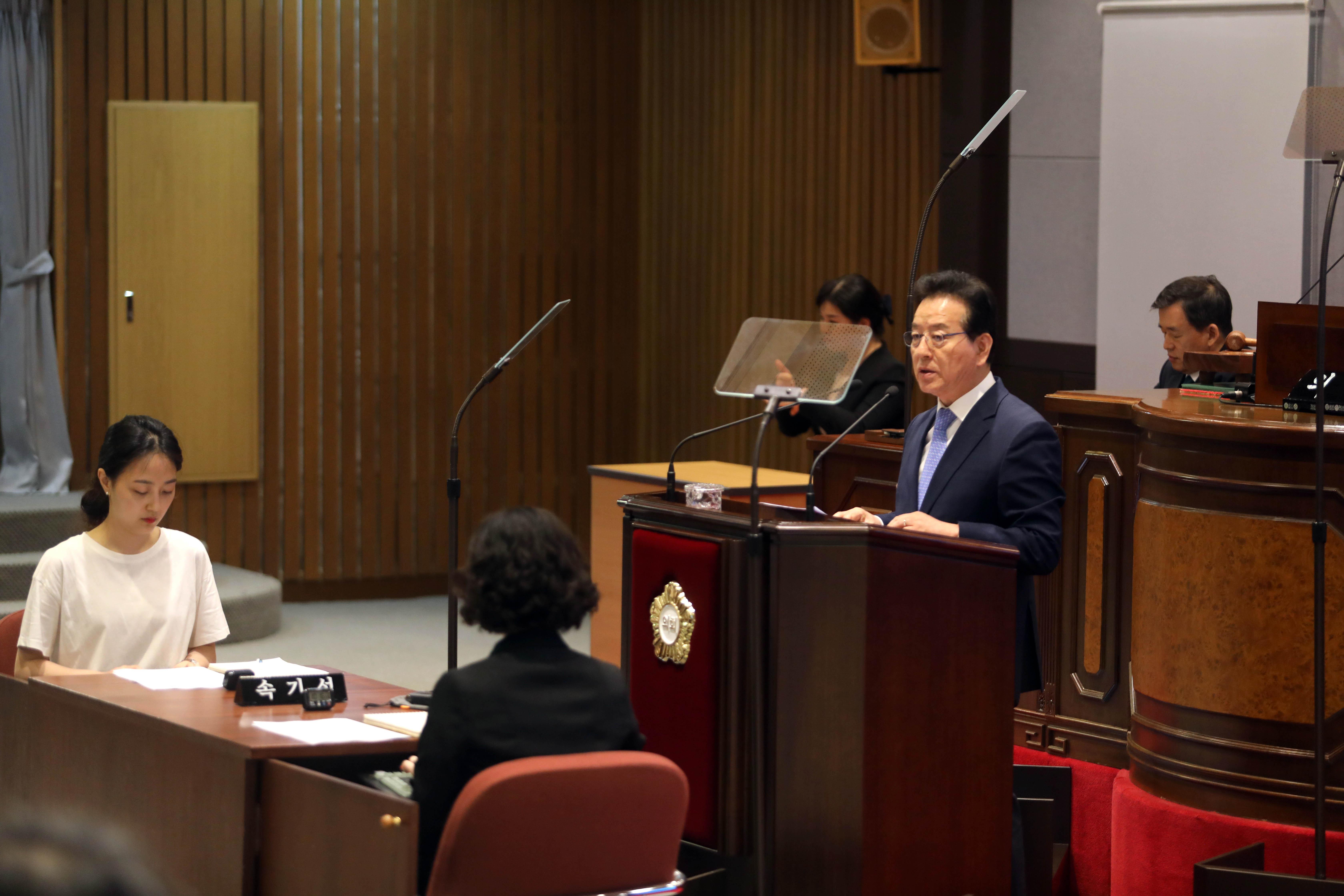 강남구의회(의장 이관수)는 10일부터 21일까지 총 12일간의 일정으로'제277회 제1차 정례회'를 열고 '2018회계연도 결산 승인안' 및 '2019년도 제2회 추경안' 등을 처리한다.