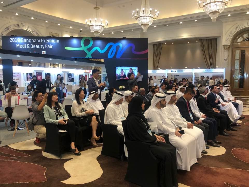 기분 좋은 변화, 품격 있는 강남'으로 도약 중인 강남구(구청장 정순균)가 9, 10일 아랍에미리트 두바이 합투르 팰리스호텔에서 의료관광 해외설명회 및 교역상담회 '2019 강남 프리미엄 메디 & 뷰티 페어'를 개최했다.