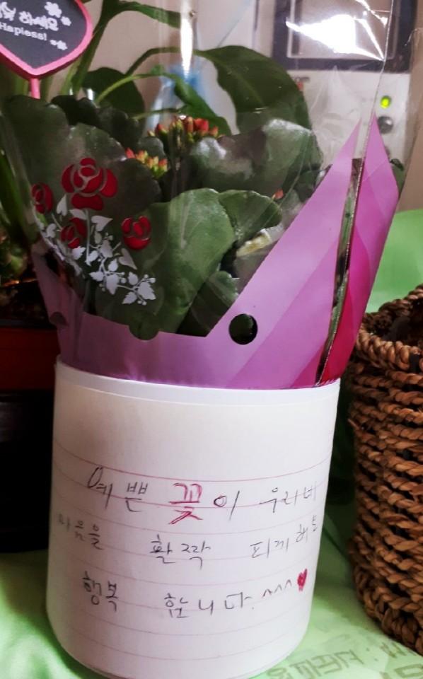 [후원사업] 코로나블루로 인한 취약계층 봄꽃화분 전달