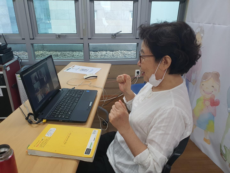 슬기로운 노년생활 - 화상앱을 활용한 스마트홈러닝 중국어 중급 B반