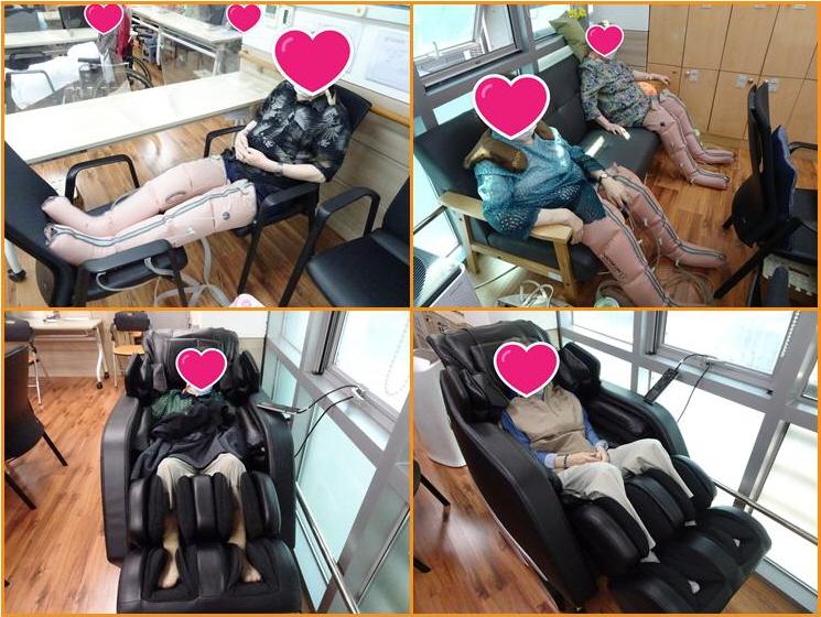 어르신들의 물리치료시간^^