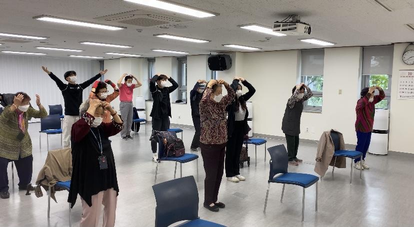 평생교육사업 기획특화프로그램 뉴스포츠교실 진행