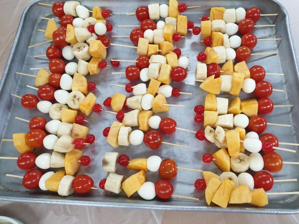 요리교실 (과일꼬치)