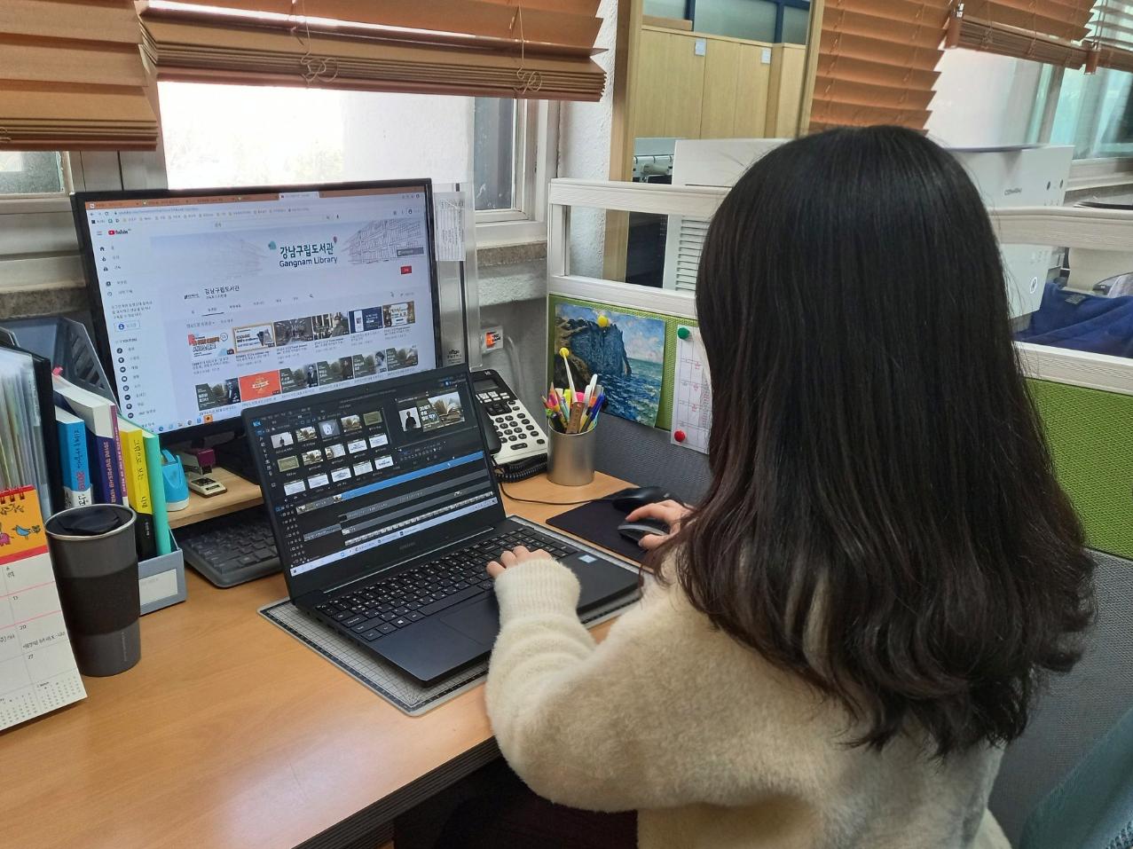 [강남의 사서이야기⑬] 언택트 시대, 영상 편집 사서로 살아남기