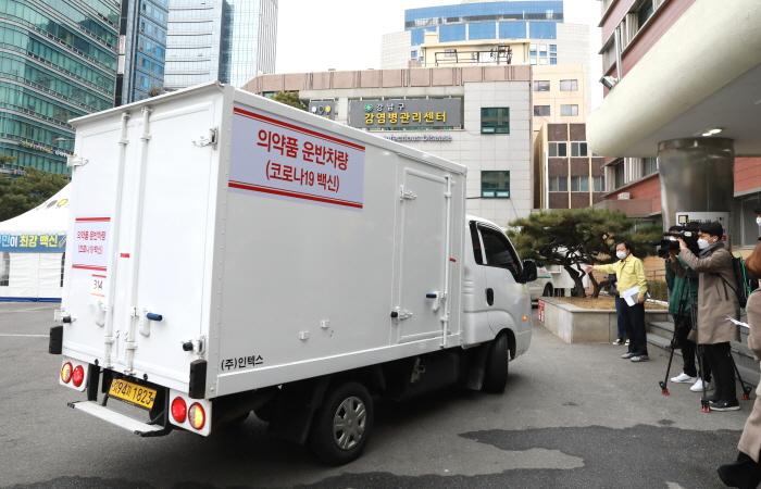 [막내가 간다] 미션임파서블 방불케 한 강남구 백신 수송현장