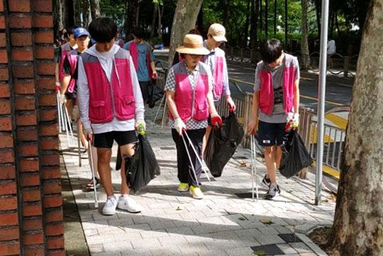 강남구 봉사활동