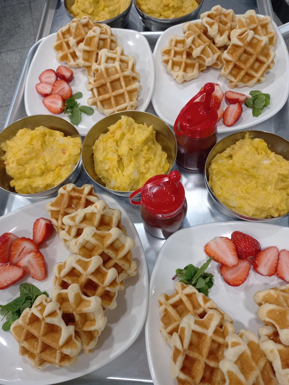 요리교실 (과일와플)