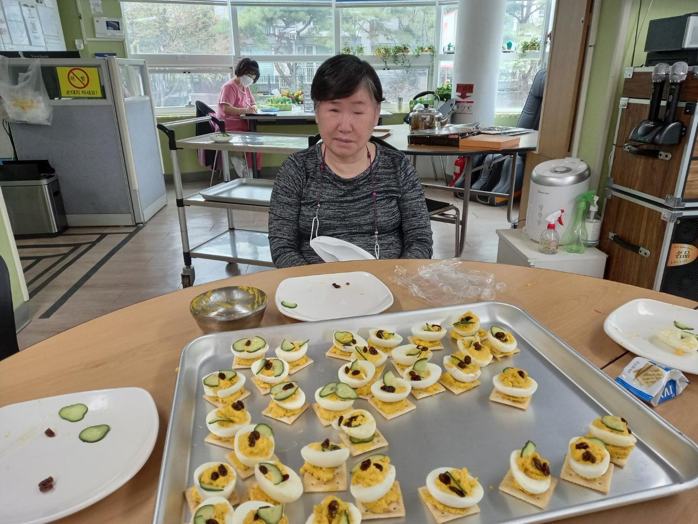 요리교실 (계란까나페)