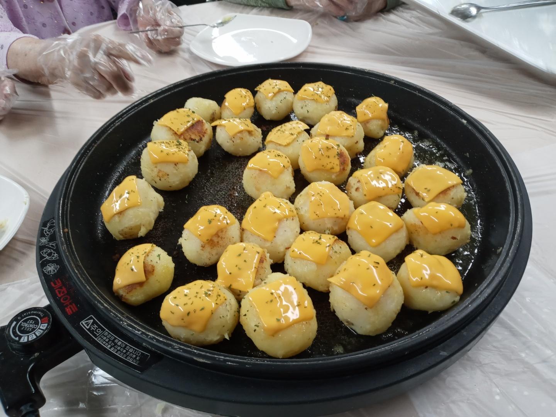 요리교실 (치즈감자구이)