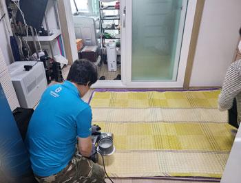 장애인 가정 환경개선 사업 '스마일 홈클리닝' 진행