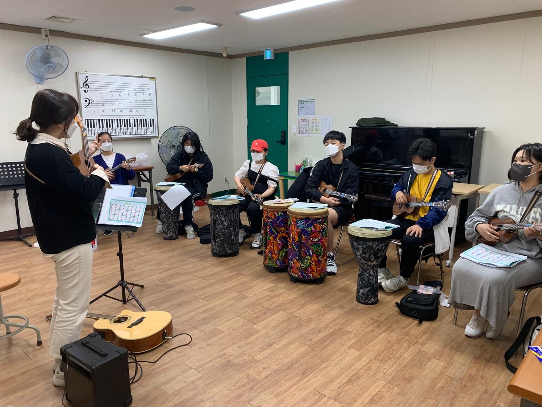 [꿈드림]5월 음악예술치료동아리