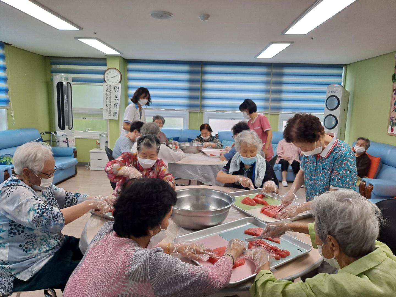 요리교실 (과일화채)