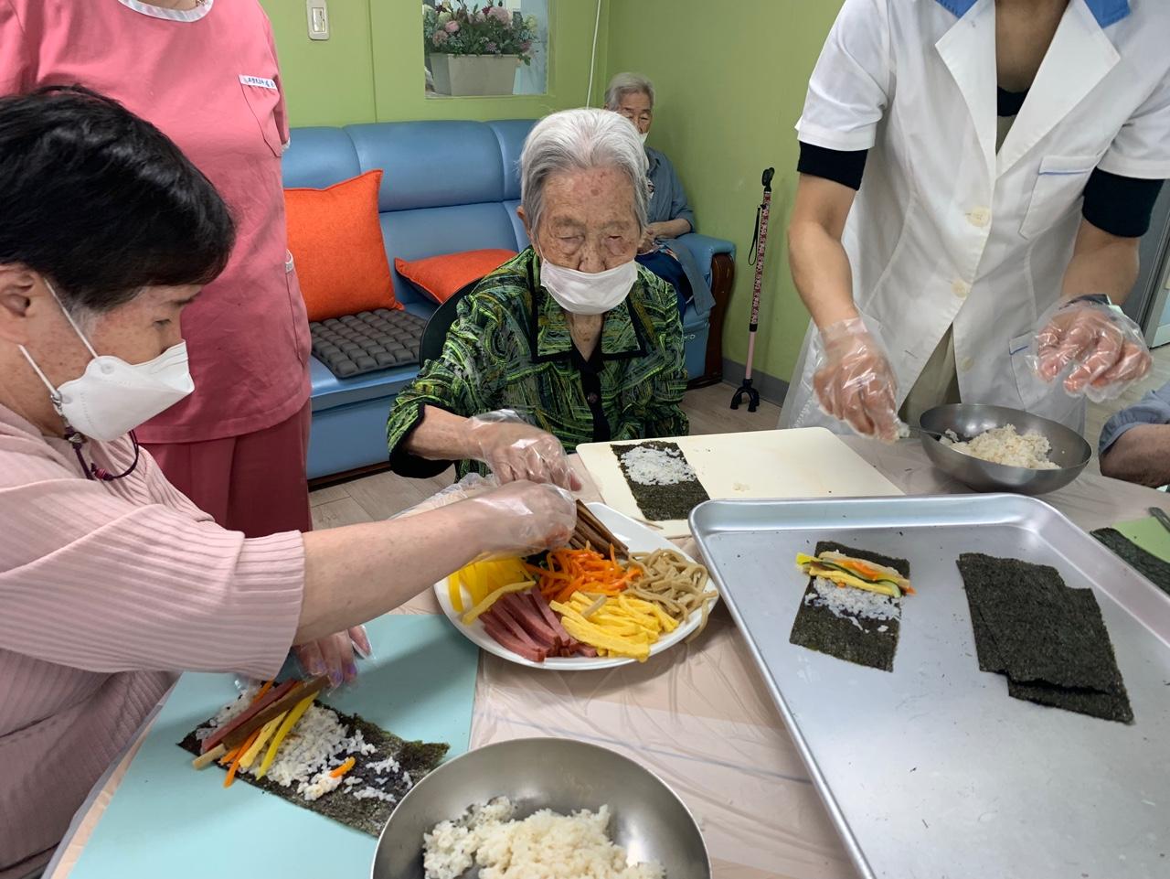 요리교실 (꼬마김밥)